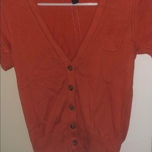 Short sleeve cardigan from American Eagle size S
